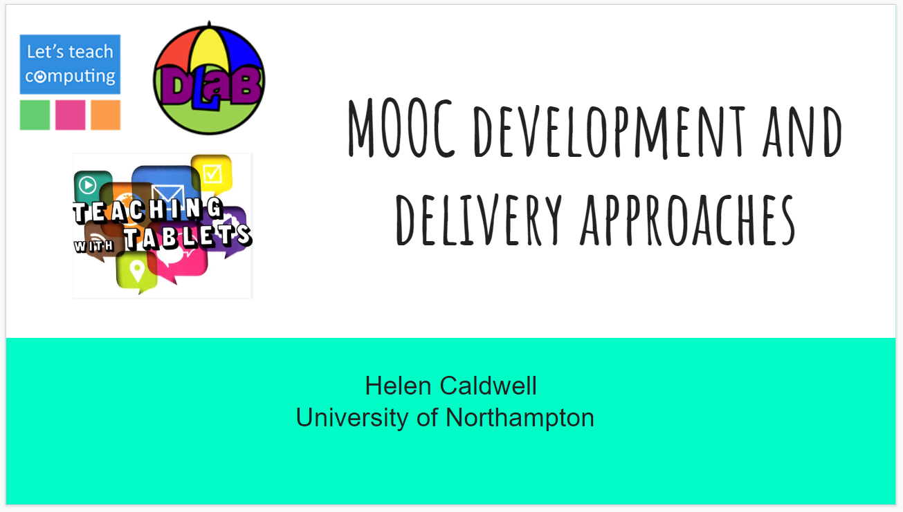 MOOC Development and delivery approaches
